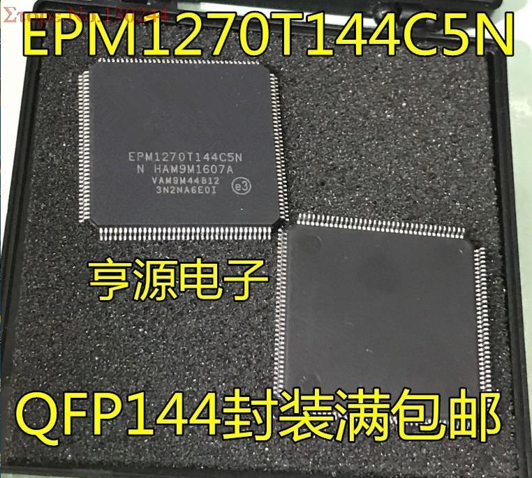 5pcs/lot EPM1270T144 EPM1270T144C5N TQFP1445pcs/lot EPM1270T144 EPM1270T144C5N TQFP144