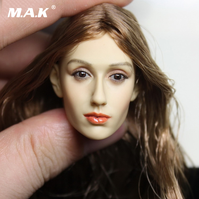 DIY 1 6 Head Sculpt 13-29 Female Figure Doll Headplay 1 6 Action Figure Head  Juguetes Gift Toys Bonecos Colecionaveis 51fc1b942924