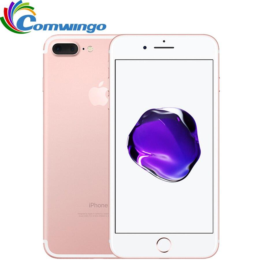 Оригинальный Apple iPhone 7 Plus Quad-Core 5.5 дюймов 3 ГБ Оперативная память 32/128 ГБ/256 ГБ IOS LTE 12.0mp Камера iphone7 плюс отпечатков пальцев телефон