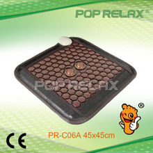 POP RELAX health care FIR Thermal heating tourmaline germaniums seat matress PR-C06A 45x45cm