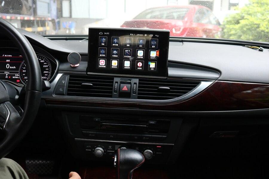 8 lecteur de gps de voiture de noyau de l'écran tactile 8 d'unités de tête d'android 8.0 pour Audi A6 2012-2018 A6L navigation appareil stéréo de radio de bluetooth