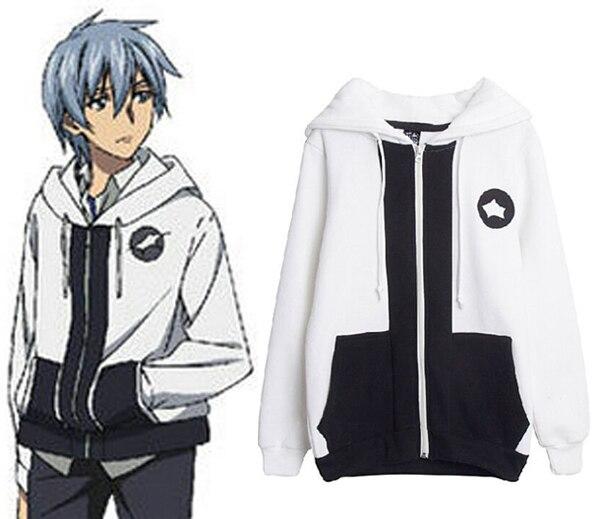 Anime STRIKE THE BLOOD Akatsuki Kojou Cosplay Costume Unisex Hooded Hoodie  Daily Jacket