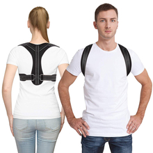Adjustable Back Posture Corrector Clavicle Spine Shoulder Lumbar Brace Support Belt Correction Prevents Slouching