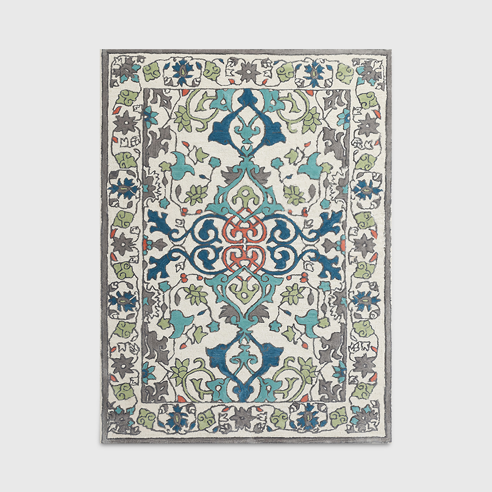 American Country Pastoral Persian Ethnic European Floral