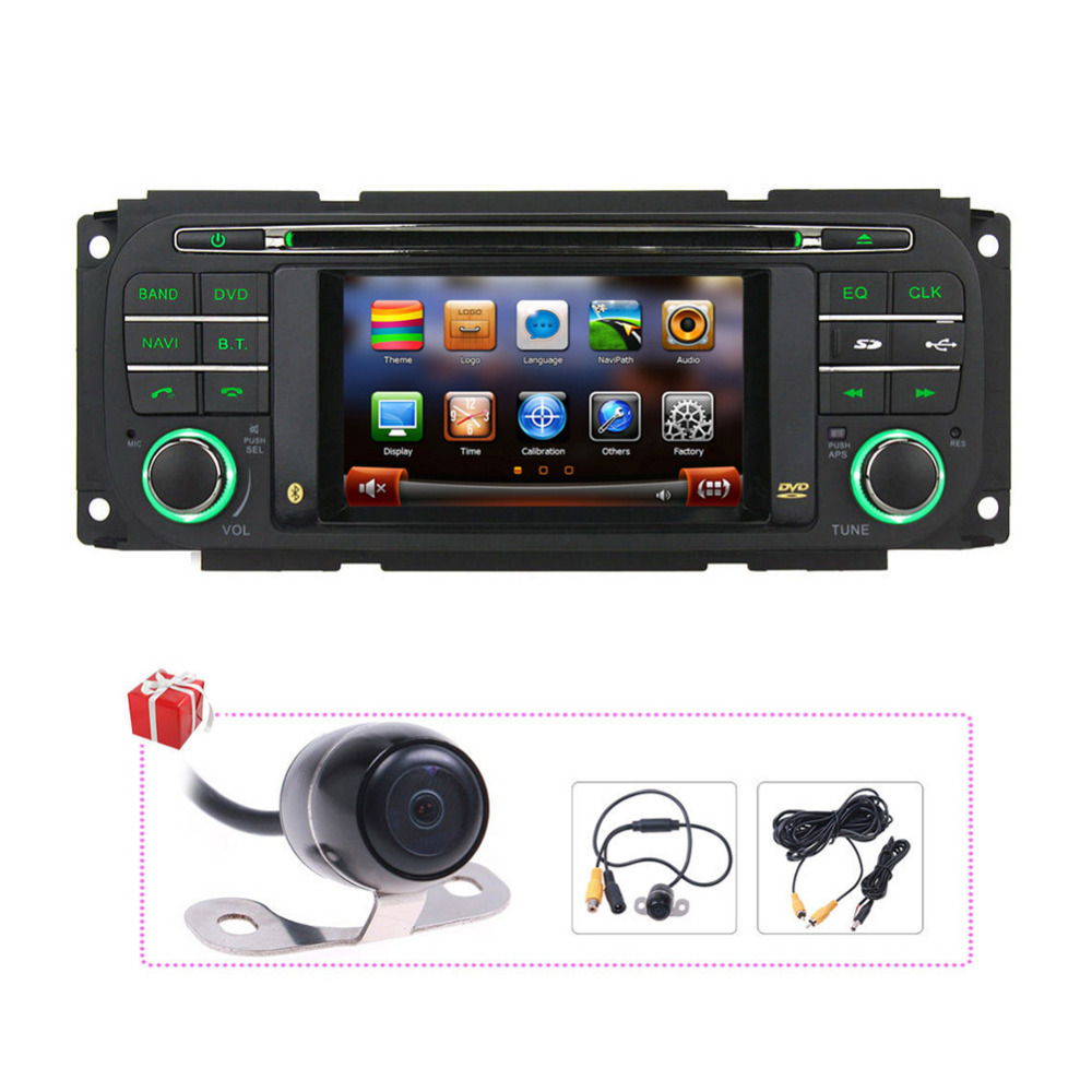 Free Map+Rear camera Autoradio GPS DVD Navigation Stereo Headunit for Dodge  Ram/Chrysler PT Cruiser/Jeep Grand Cherokee -in Car Multimedia Player from  ...