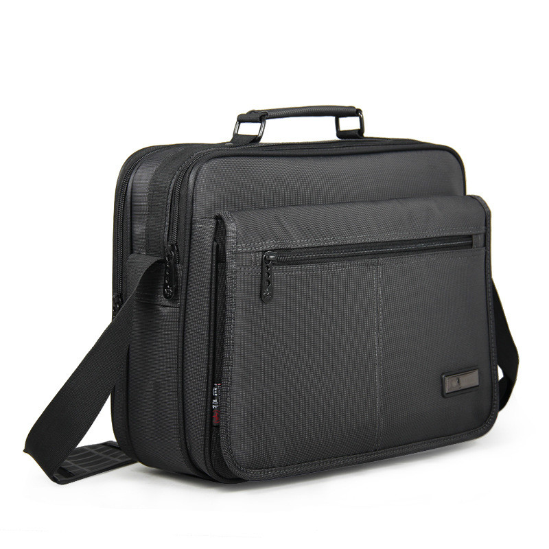 Brand Waterproof Men Women 12 13 14 15 Inch Laptop Briefcase Business Handbag For Men Large Capacity Messenger Shoulder Bag