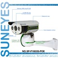 SunEyes SP-P1803S-POE  Pan/Tilt POE IP Camera Outdoor 1080P Full HD with TF/Micro SD Slot Array IR 50M Project Quality