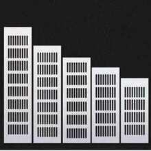 Вентиляционные отверстия перфорированный лист алюминиевая вентиляционная решетка вентилятор решетка крышка Вентиляция для шкафа обуви кондиционер домашний декор крышка