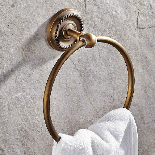 hand towel holder for wall. Bathroom Accessories Wall Hand Towel Holder Antique Brass Rack Hardware Accessories-in Rings From Home Improvement On For AliExpress.com