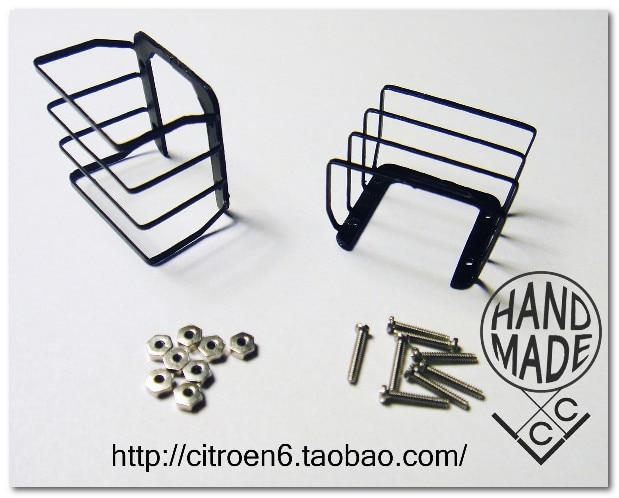 TAMIYA 1:10 cc01 Wrangler taillight metal grille 1 10 cc01 pajero jeep wrangler tie rod end metal tampa tamiya tamiya
