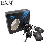 2pcs P6 H3 LED Light Bulb 6000K Headlight Kit 45W 4500LM High Power Conversion Car LED