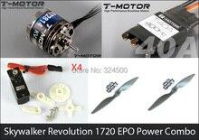 Combos de energía (Kit de Motor ESC Servos y Apoyos) de Revolución 1720 Avión y 2015 Skywalker EPO Skywalker 1680 FPV Avión TIPO 2