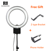 28W Photography Ring Light Continuous Lamp Photo Ring Light Video Camera Photographic Lighting For Makeup Selfie