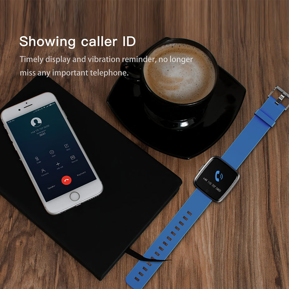 COLMI Smart watch Men IP67 Waterproof Activity Fitness Tracker Heart Rate Monitor Women Smartwatch For Android IOS 7