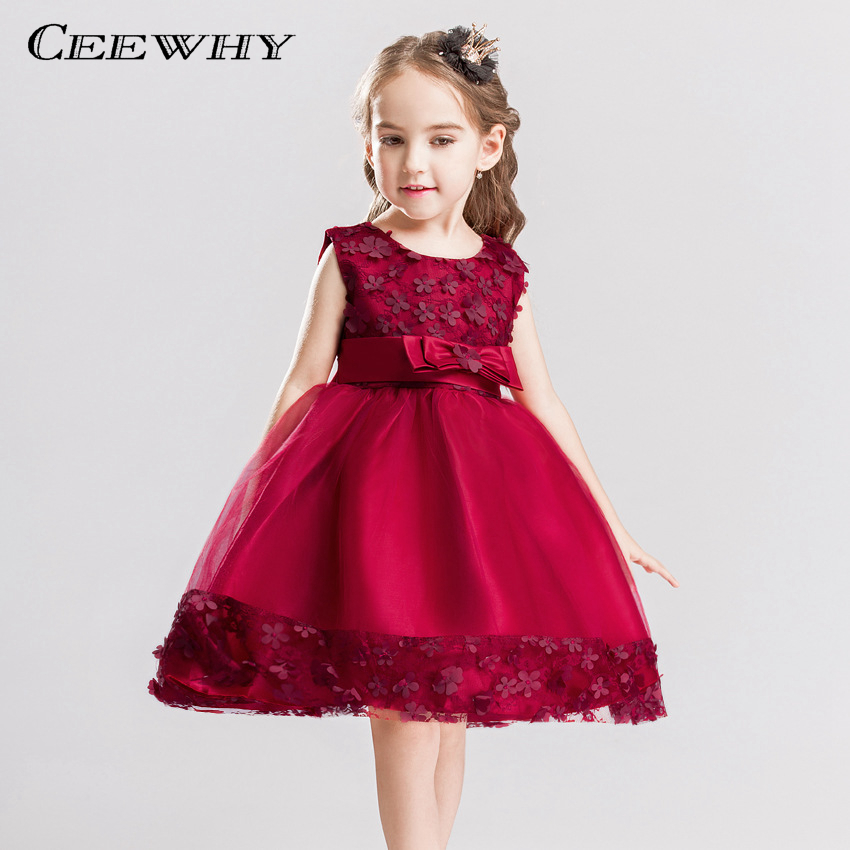 CEEWHY Kommunionkleid Abito Comunione Bambina Holy Communion   Dresses   for   Girls   Wedding Party   Flower     Girl     Dresses   Prom   Dress