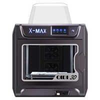 QIDI TECH X-MAX 3D Printer Large Size High temperature extruder PC Nylon Carbon fiber