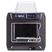 QIDI TECH X-MAX imprimante 3D grande taille haute température extrudeuse PC en Nylon fibre de carbone