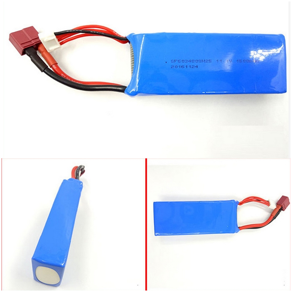 1pcs 11.1V 1500MAH 25C Lipo Battery For WLtoys V950 RC Models Airplane Helicopter Car Boat Quadcopter
