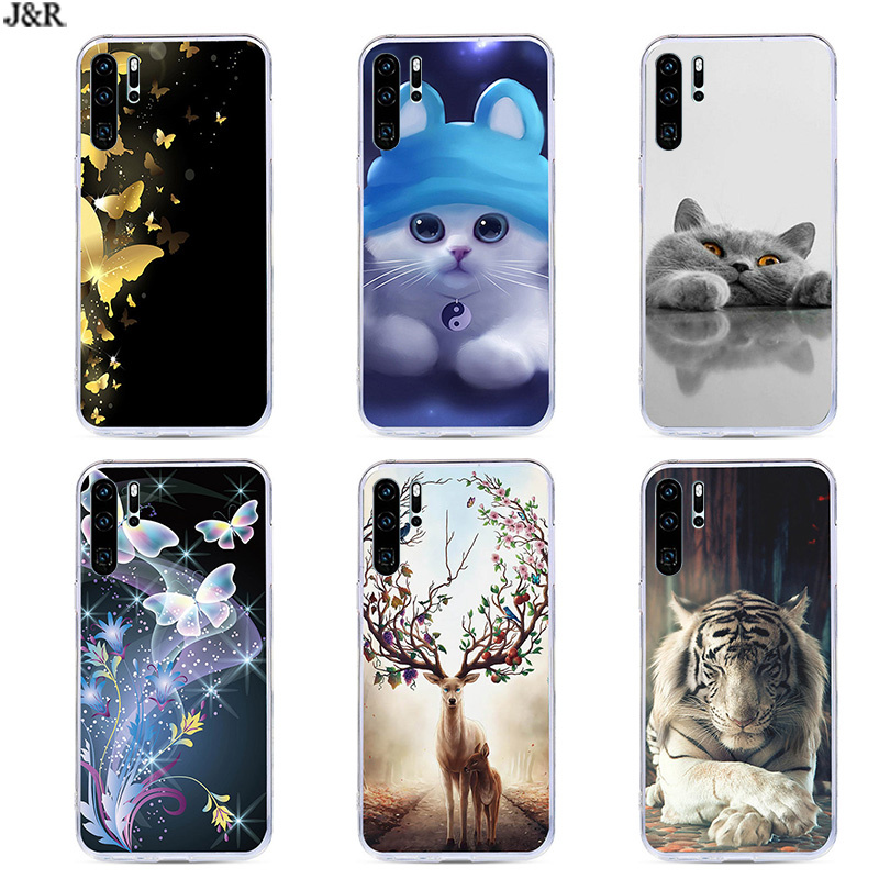Case for Huawei P30 Pro Cover For Huawei P30Pro Silicon TPU Phone Back Covers For Huawei P30 Pro VOG-L29 ELE-L29 P 30 PRO Cases