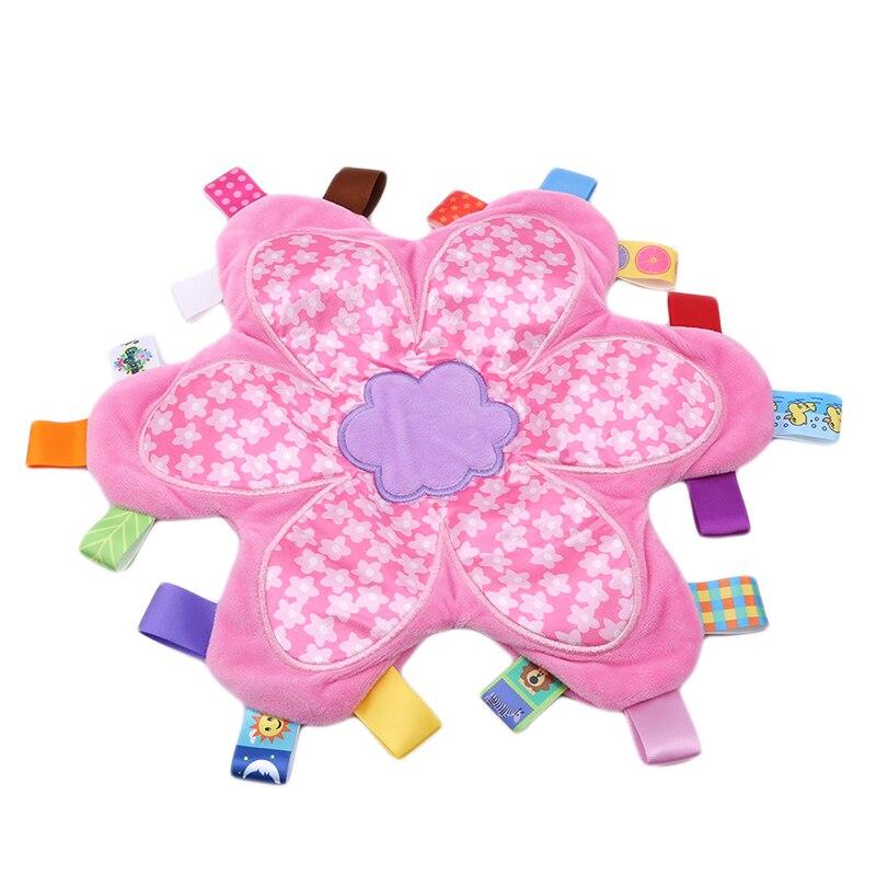 Soft Baby Plush Toys Baby Sleeping Warp Swaddling Security Blanket Baby Plush Toy Kids Birthday Christmas Gift Baby Blanket