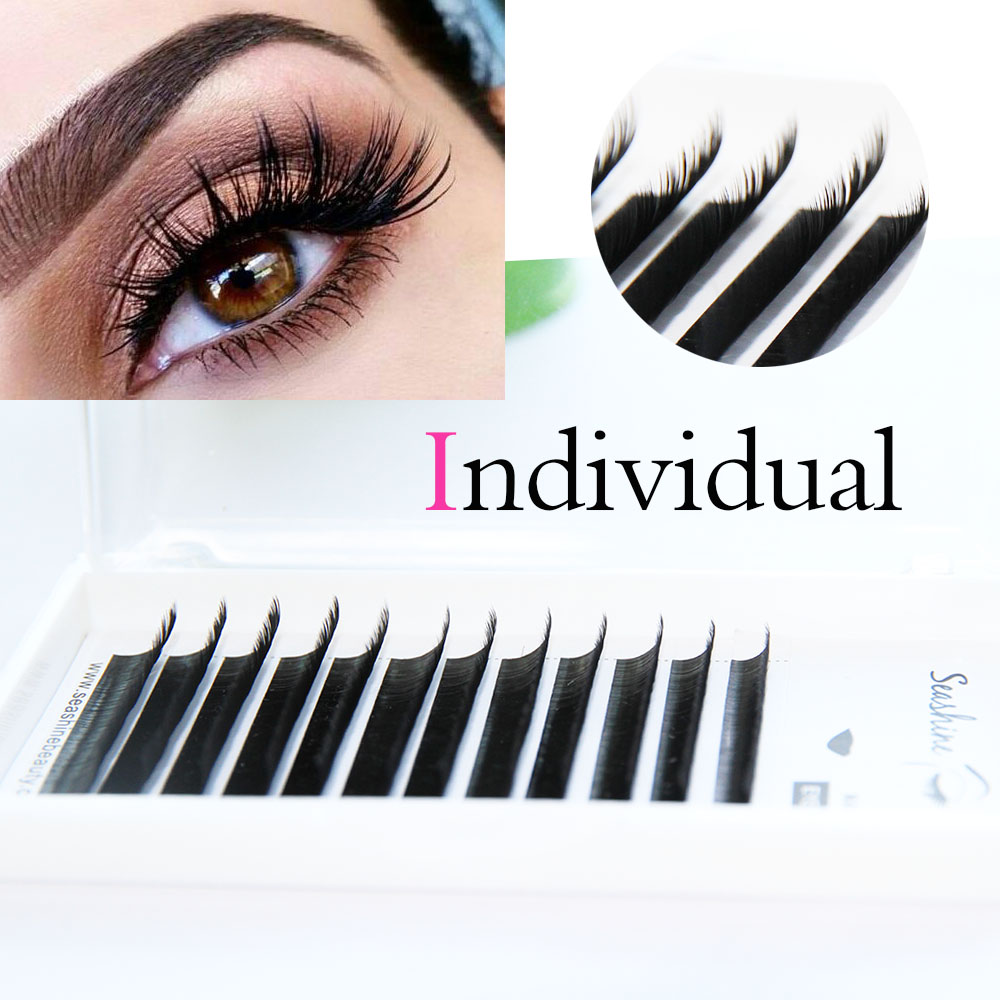 62f9cff0124 C D L Curl Silk Individual lash Extensions Mix length All Size Classic Lash  Immediately Shipping Volume Lash