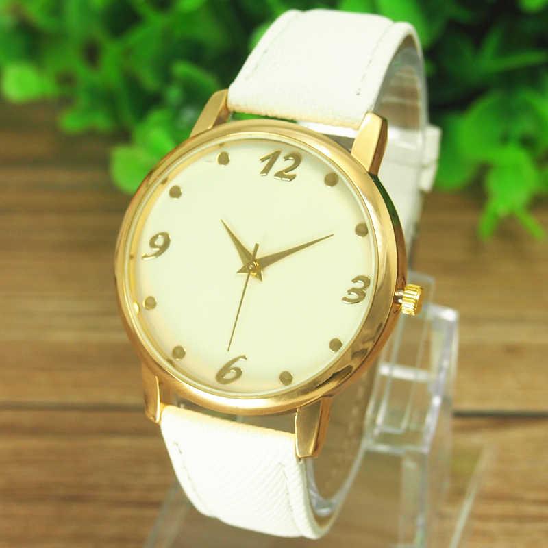 Великолепные женские мужские джинсовые тканевые браслеты наручные часы унисекс Аналоговые Кварцевые женские платья прямые поставки часов