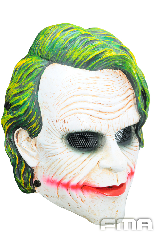FMA Airsoft Wire Mesh Batman Joker Full Face Mask TB648 Helmet Masks war games gear free shipping