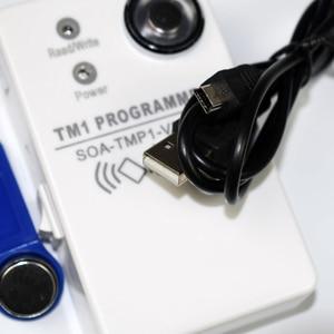 Image 3 - TM RFID Copier Duplicator handheld RW1990 TM1990 TM1990B ibutton DS 1990A I Button 125KHz EM4305 T5577 EM4100 TM card Reader