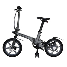 bb38876b849 16-inch folding electric bicycle magnesium alloy small electric bike  ultra-light portable folding