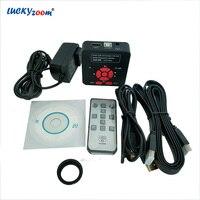 Luckyzoom 16MP Digital Microscope Camera 1080P USB CMOS Panasonic Video Camera HDMI For Stereo Microscope Adapter WIN XP/7/8/10