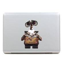Removable beautiful DIY colorful lovely robot WALL-E tablet sticker and laptop computer sticker for laptop,170*270mm