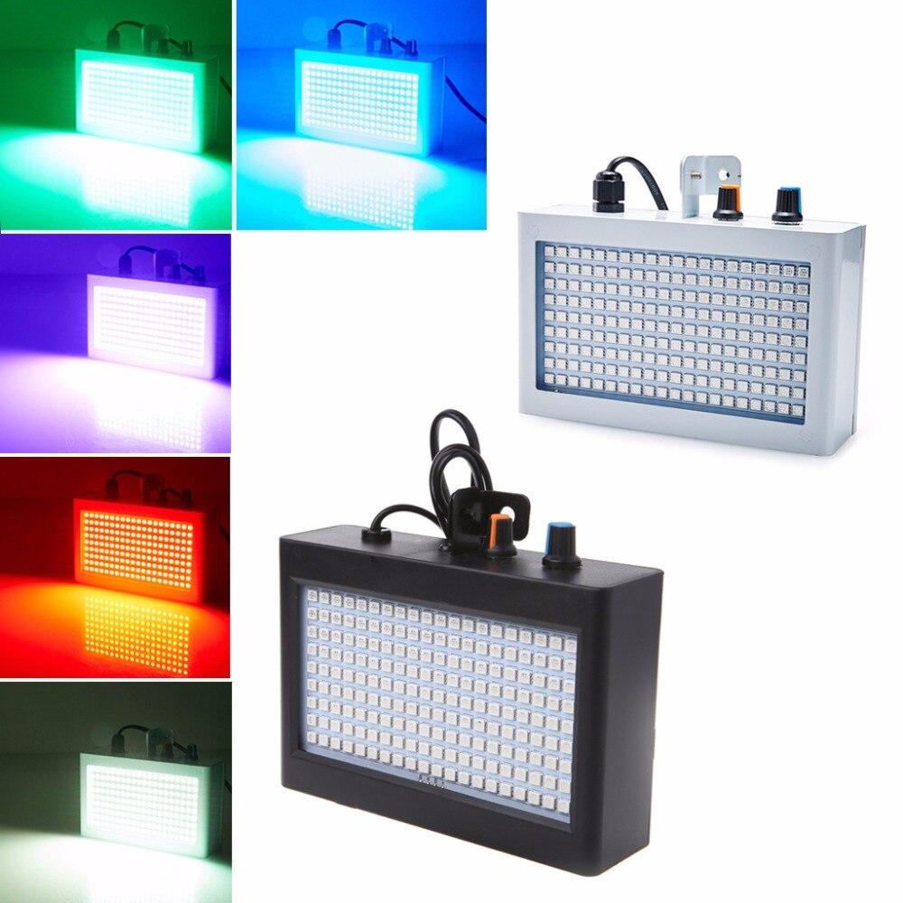 HNGCHOIGE 180 LED 35 W Lumière Stroboscopique Auto Sound Activé Réglable Flash Contrôle De Vitesse Pour Disco Party Scène US Plug