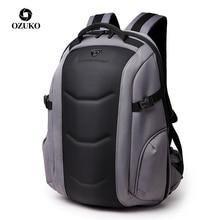 OZUKO מותג עמיד למים אוקספורד תרמיל לנוער 15.6 אינץ מחשב נייד תרמילי זכר אופנה ילקוט גברים נסיעות שקיות מוצ ילאס