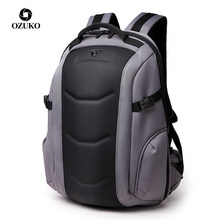 OZUKO Brand Waterproof Oxford Backpack for Teenager 15.6 inch Laptop Backpacks Male Fashion Schoolbag Men Travel Bags Mochilas(China)