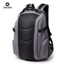 Ozuko Merk Waterdichte Oxford Rugzak Voor Tiener 15.6 Inch Laptop Rugzakken Mannelijke Mode Schooltas Mannen Reistassen Mochilas