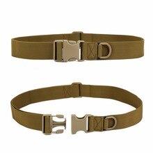 Men Adjustable Tactical Belt Buckle Tactical Bag Waistband M