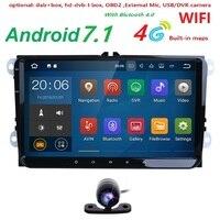 9 AutoRadio 2 Din Android 7 1 Car Multimedia GPS For Skoda Rapid Octavia 2 Superb