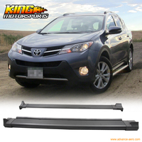 Fit 2013 2015 Toyota RAV4 OE Aluminum Running Boards Side Step Nerf Rail Bar