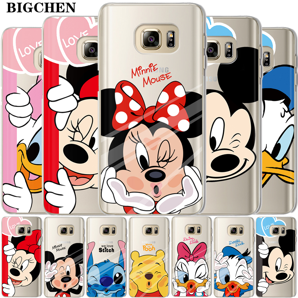 Coque Samsung Galaxy S7 : Mickey Noir Blanc