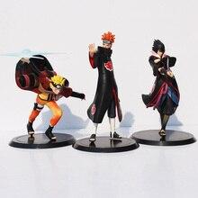 3 Pcs Naruto Uzumaki With Friend