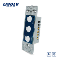 Manufacturer Livolo EU Standard Dimmer Switch Without Glass Panel Wall Light Touch Dimmer Remote Switch VL