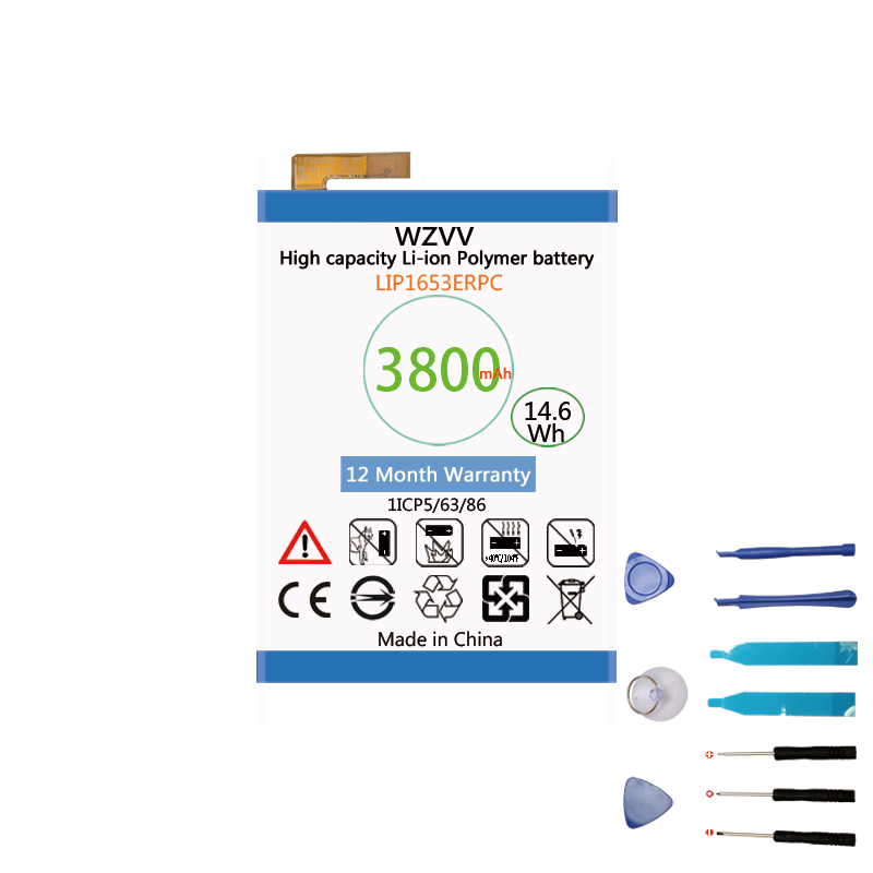 wzvv Original 3800mAh LIP1653ERPC <font><b>battery</b></font> for Sony <font><b>Xperia</b></font> XA2 Ultra G3421 G3412 <font><b>XA1</b></font> Plus Dual H4213 Bateria + Tracking image
