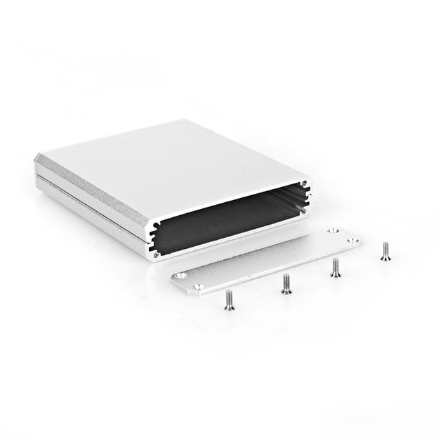 Neue Aluminium PCB instrument Box Gehäuse Fall Projekt elektronische ...