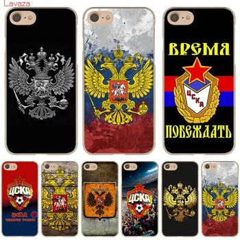 Russia Flag Emblem Hard Transparent Case Cover for iPhone 6 6s emblem