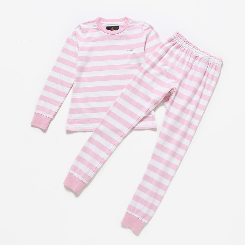 ФОТО T100 Children 's CLothes Set Underwear Sets Spring Autumn Girls Clothes Sets Warm Baby Pajamas Long Sleeve Baby's Underwear Sets