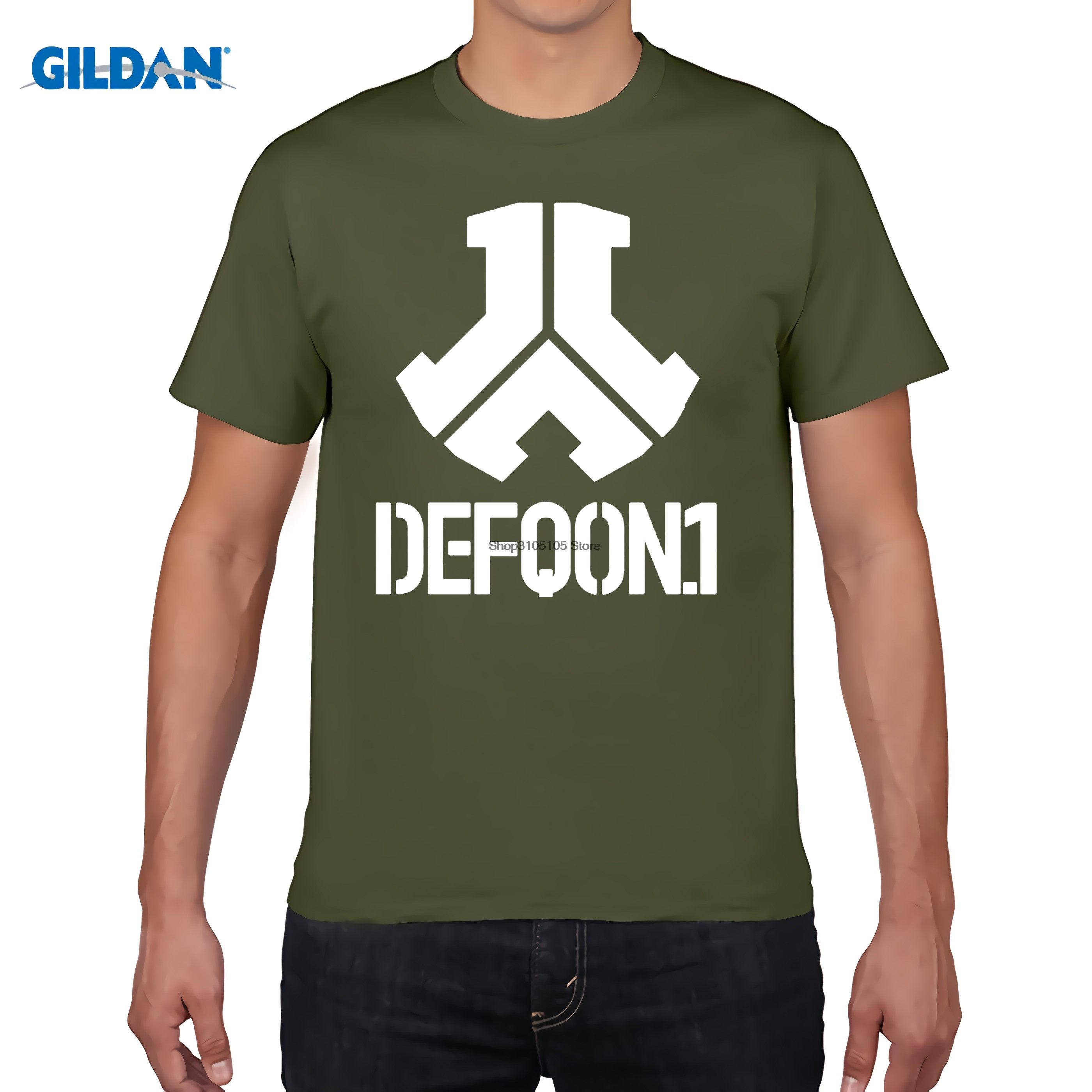 GILDAN Defqon 1 Rock Band Hip Hop Men Hoodies And Sweatshirts Winter Autumn Zipper Fleec ...