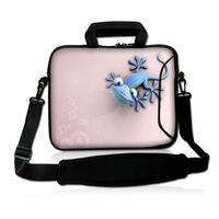 Розовый Ящерица Тетрадь компьютер Планшеты сумка для ноутбука Посланник Случае Сумки 11