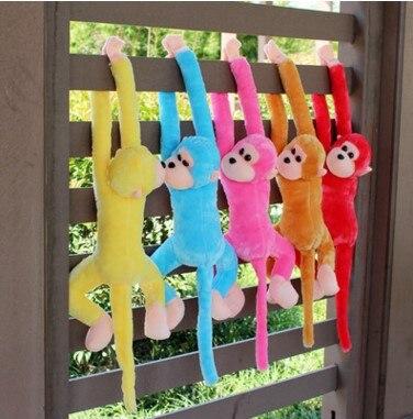 Новая милая плюшевая обезьянка с длинными рукавами-in Мягкие и плюшевые животные from Игрушки и хобби