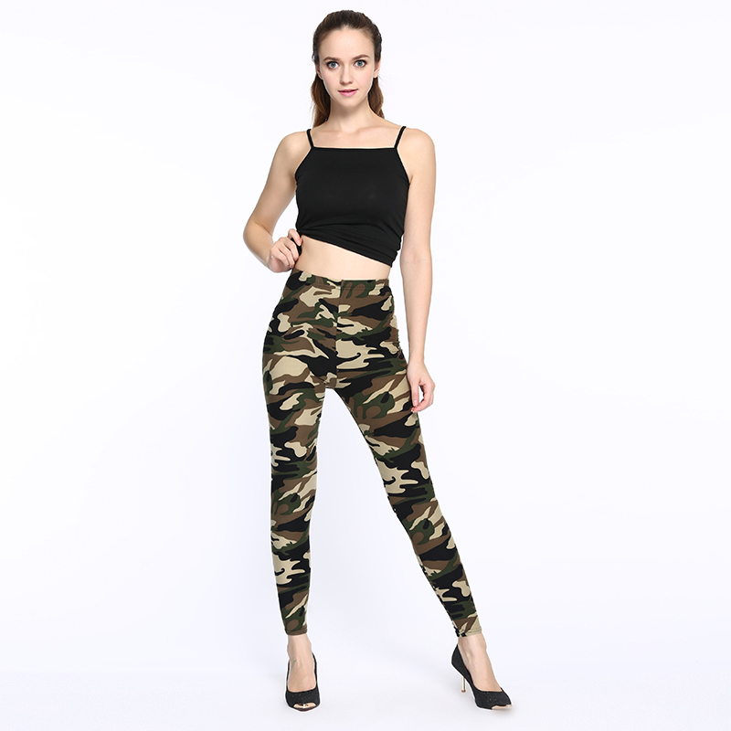 ARDLTME winter leggings fitness Camouflage women print leggings Trouser Army Pants Stretch Legging for female leggings printed in Leggings from Women 39 s Clothing
