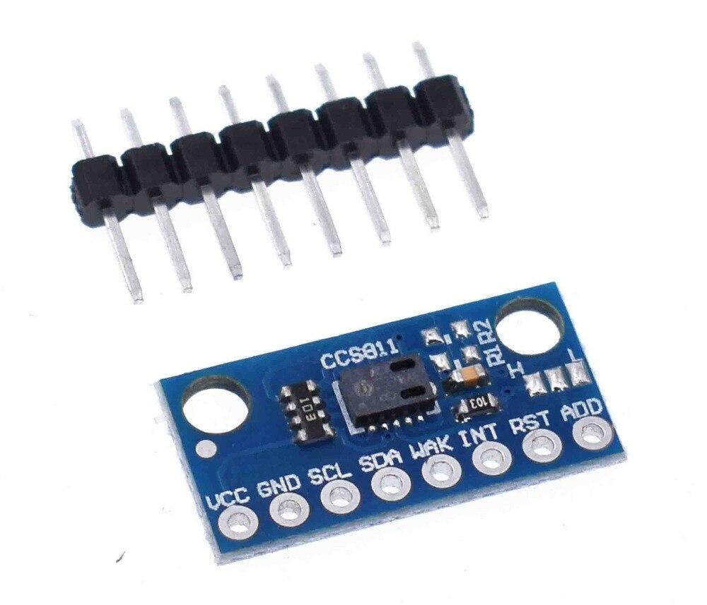 Qualidade do ar Sensores de Gás Board para Arduino Módulo Sensor Ccs811 Gy 811 Numérica da Covt Co2 Gy ccs811 Diy Eletrônico Pcb